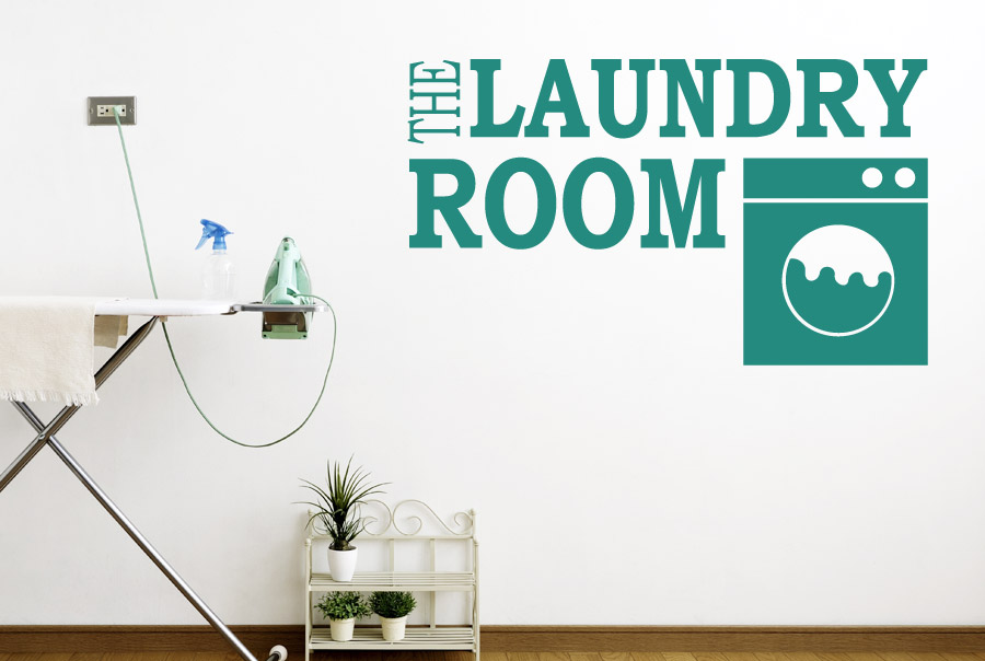 the laundry room wall stickers art decals ebay laundry room wall sticker